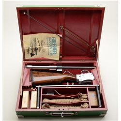 Greener Light Model Harpoon gun in heavy duty  compartmentalized wood case with accessories  includi