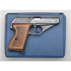"Mauser Model HSc DA semi-auto pistol,  German-made for Interarms, .380 cal., 3-1/4""  barrel, black f"