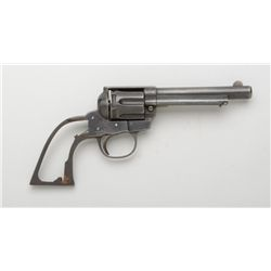 "Copy of a Colt revolver, .38 S&W Special  cal., 5"" barrel, blue finish, #1234. This is  a parts gun"