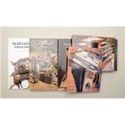Bonanza lot of approx. 40 various auction  catalogs from various auction galleries  (primarily gun a