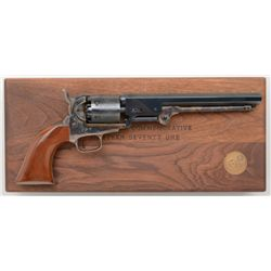 Cased with accessories Colt Robert E. Lee  Commemorative (1971) blackpowder series Model  1851 Navy