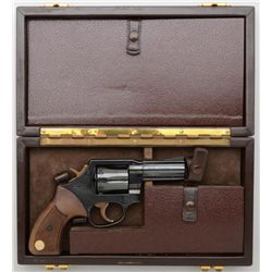Rare great quality deluxe cased Manurin DA  revolver, similar to the German Korth and the  only exam
