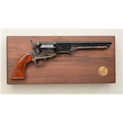 Cased Colt U.S. Grant Commemorative (1971)  blackpowder Model 1851 Navy revolver, .36  cal., 7-1/2""