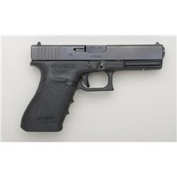 "Glock Model 21 semi-auto pistol, .45 cal.,  4-1/2"" barrel, mat black finish with polymer  frame, aft"
