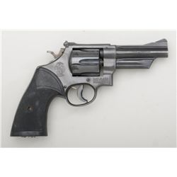 "Smith & Wesson Model 28-2 Highway Patrolman  DA revolver, .357 Magnum cal., 4"" barrel,  blue finish,"
