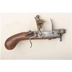 Colonial era flintlock tinder-lighter,  typical styling, mid to late 18th century.  English or Ameri