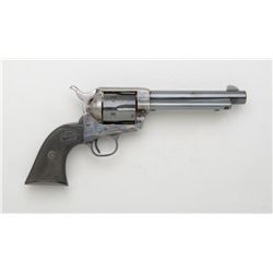 "Colt 2nd generation SAA revolver, .357 Magnum  cal., 5-1/2"" barrel, blue and case hardened  finish,"