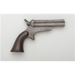 Sharps & Hankins .32 rim fire pepperbox  Derringer #11174.  Made about mid-Civil War,  grey to brown