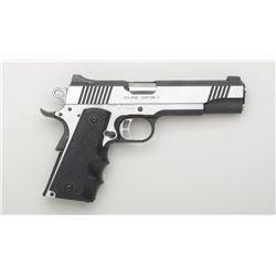 "Kimber Eclipse Custom II Model semi-auto  pistol, 10mm cal., 5"" barrel, stainless steel  with mat bl"