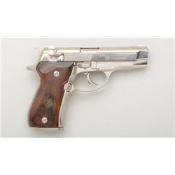 "Browning BDA-380 DA semi-auto pistol, 380  cal., 3-3/4"" barrel, nickel finish, smooth  wood Browning"