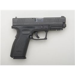 "Springfield Armory Model XD-40 semi-auto  pistol, .40 S&W cal., 4"" barrel, mat black  finish, polyme"