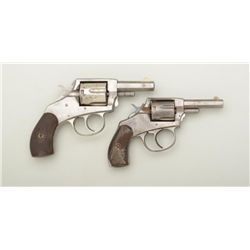 "Lot of two American Bulldog DA pocket  revolvers including a .38 cal., DA with  2-1/2"" barrel, trace"