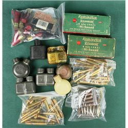Bonanza box lot of misc. 8mm caliber  collector ammo including numerous brands,  dates, headstamps,