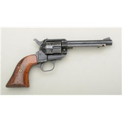 "West German-made SAA marked ""Liberty"", .22LR  cal., 5"" barrel, blue finish, wood grips,  #92765. Thi"