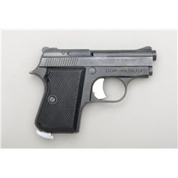 "Italian-made Tanfoglio Model GT 27 pocket  semi-auto pistol, .25 cal., 2-1/2"" barrel,  blue finish,"