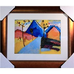 Wassily Kandinsky Limited Edition-Nature Study from Murnau