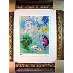 Marc Chagall Limited Edition - Daphne Discovers Chloe