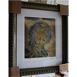Salvador Dali Signed Limited Edition - Raphaelesque Head Exploding