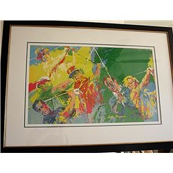 Neiman -  Golf Champs  - Lithograph