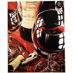 Victor Ostrovsky Giclee on Canvas  Un Tittled