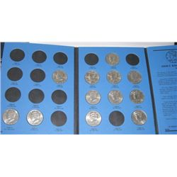 1986 Kennedy Half Dollar Book Filled with 12 Total Kennedy Half Dollars!!