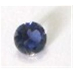 .35 ct Natural Iolite Cut & Round Faceted *HIGH GRADE*!!!! Iolite came out of Estate Bank Safe Depos