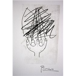 Picasso Original Lithographs Hand Pulled and Signed.