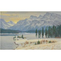 Wayne E. Wolfe - Sunrise in Banff