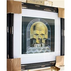 Salvador Dali Signed Limited Edition - Skull Of Zurbaran