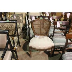 LOUIS XVI SHIELD BACK SIDE CHAIR