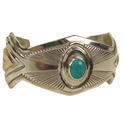 Navajo Bracelet- Leonard &amp; Marian Nez