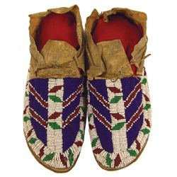 Cheyenne Beaded Moccasins