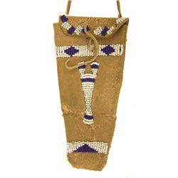 Ute Beaded Pouch