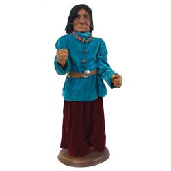 Hand Carved Wooden Figure- Erla Graham