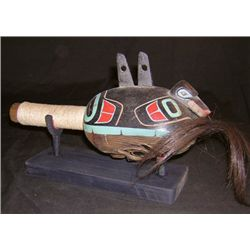 Northwest Coast Rattle - Tom Ignace