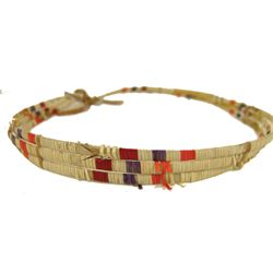Sioux Quilled Hatband