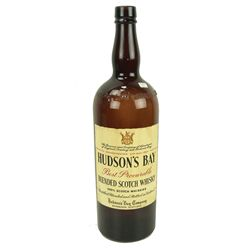 Hudson's Bay Whiskey Bottle
