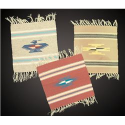 3 Chimayo Shelf Rugs