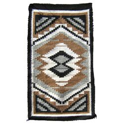 Navajo Rug/Weaving - Rose M. Benally