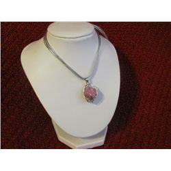 39.10 ct Pink Ruby Pendant