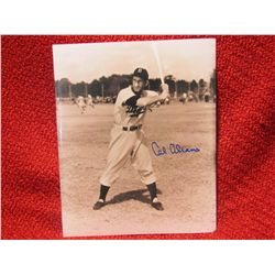 Cal Abrams signed Brooklyn Dodgers