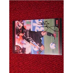 DC United Facundo Erpen  Soccer  Autograph