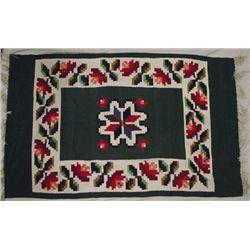 Vintage Large Mexican Textile Weaving