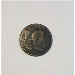 1795 large penny  VG/F with some pitting  VG GS bid = $400