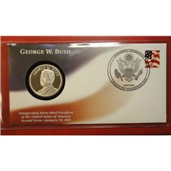 George Bush Inaugural first day cover dated 1/20/2005