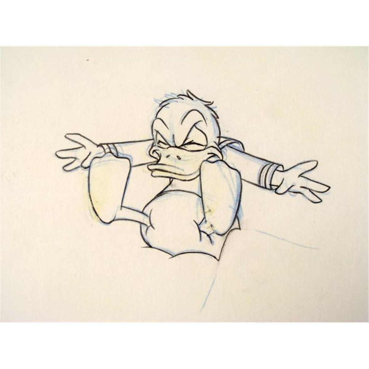 Angry Donald Duck Drawings Drawing Framed Donald Duck