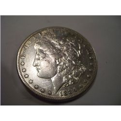 1884-S Morgan Silver Dollar, XF