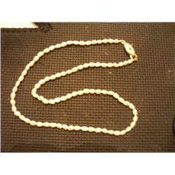 "12"" Genuine Freshwater Pearl Necklace"