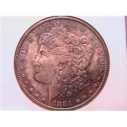 1881-S Morgan Dollar Ch MS64 NGC