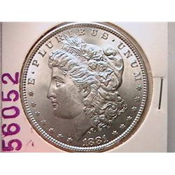 1881 Morgan Dollar Ch MS64